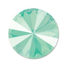 14mm Swarovski Crystal Rivoli - Mint Green