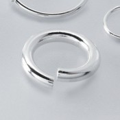 Sterling Jumprings + Split Rings