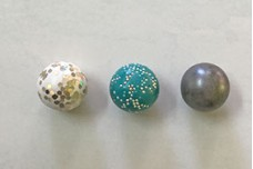 How to add Sparkle to Polymer Clay Beads