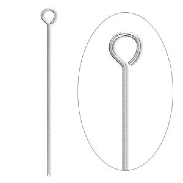 38mm 24ga 304 stainless steel eyepins