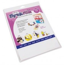 Grafix Clear Inkjet Shrink Plastic - 50 sheets
