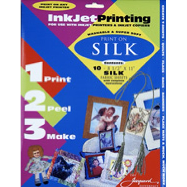 image about Printable Silk Fabric named Jacquard Silk Inkjet Printable Material Sheets