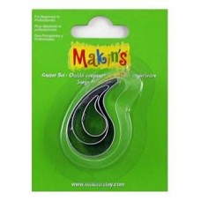 3 Piece Makins Cutter Set - Waterdrop