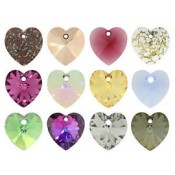 Swarovski 14mm 5742 Hearts