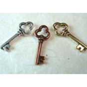 Lock & Key Charms