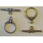 Toggle & Hook Clasps